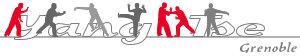 logo Yang Tse avec des pratiquants de tai chi