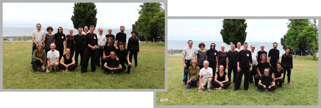 Tai Chi Chuan - Stage Enseignants et Assistants Yang Tse 2019 à Thonon-les-Bains au bord du lac Léman