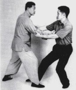 Yang Sau Chung et Ip Tai Tak. Ip Tai Tak passe près de trente ans auprès de Yang Sau Chung et devient son partenaire de la poussée des mains.